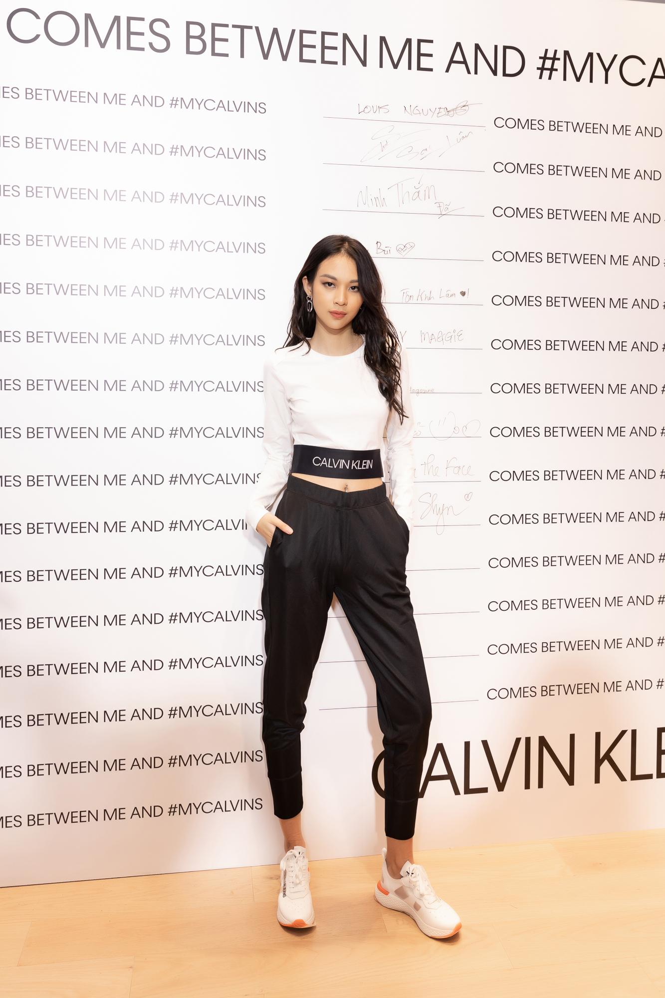 Fashionista Phí Phương Anh tại sự kiện Calvin Klein