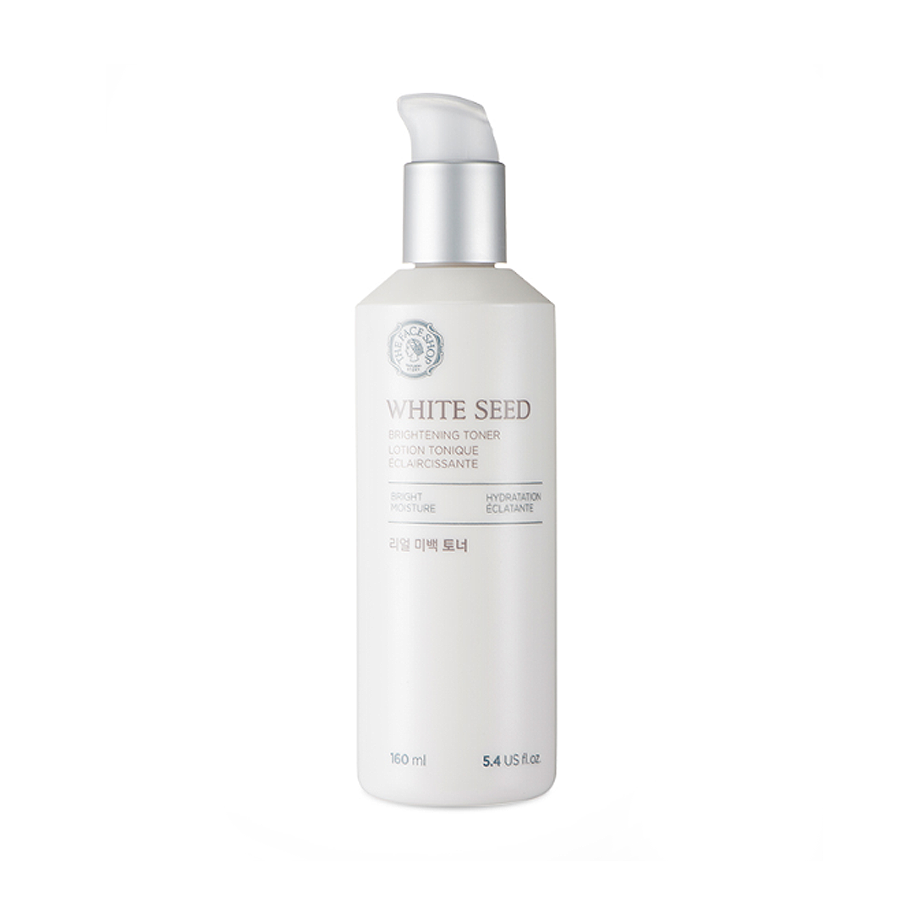 dưỡng trắng da the face shop white seed whitening toner