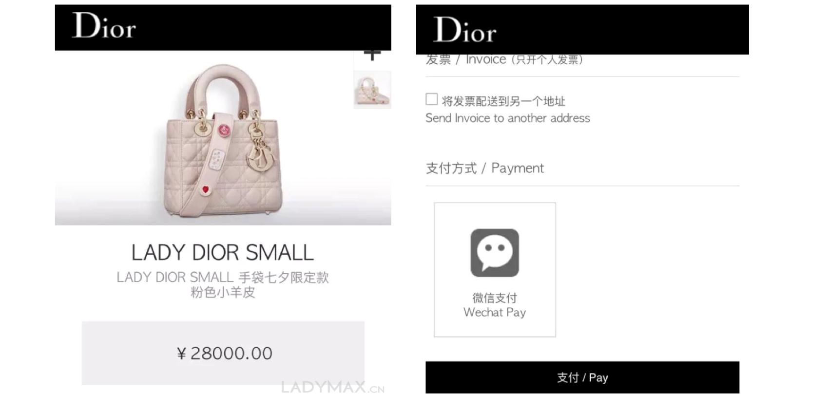 Tin thời trang Dior khai trương cửa hàng trực tuyến tại Nhật Bản