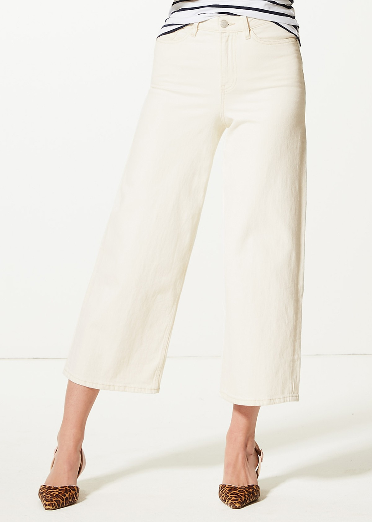Quần culottes Marks & Spencer