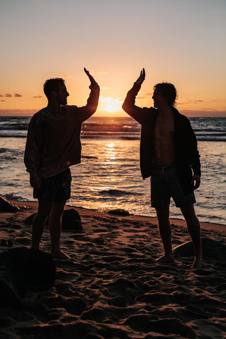 du lịch cùng người bạn đáng tin cậy