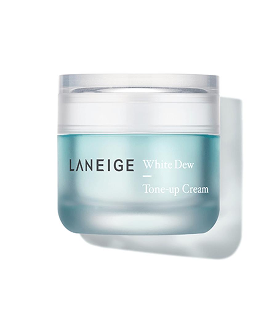 dưỡng trắng da laneige white dew tone up cream
