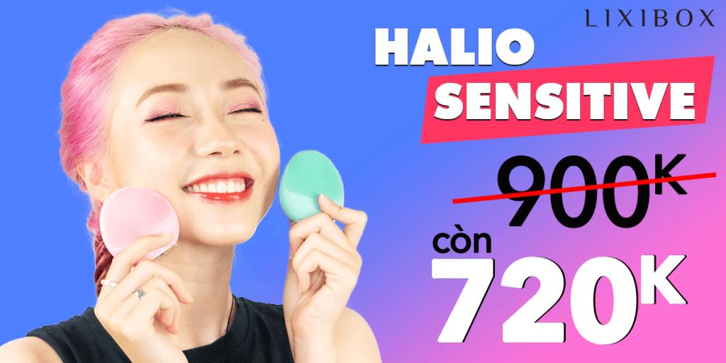 sản phẩm Halio Sensitive phiên bản mới giảm giá