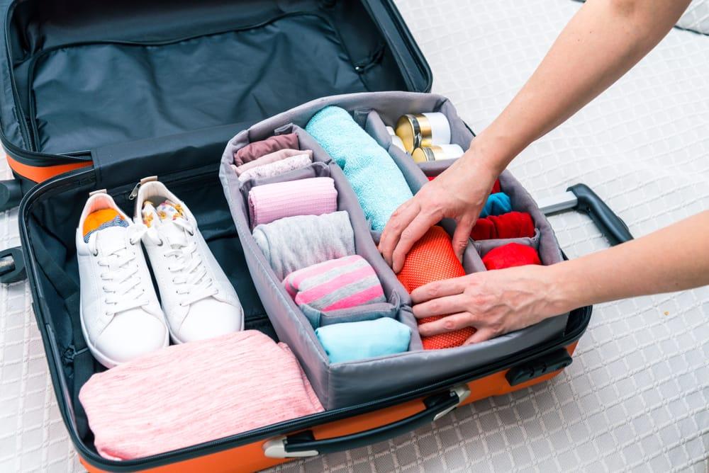 Sắp xếp thời trang du lịch