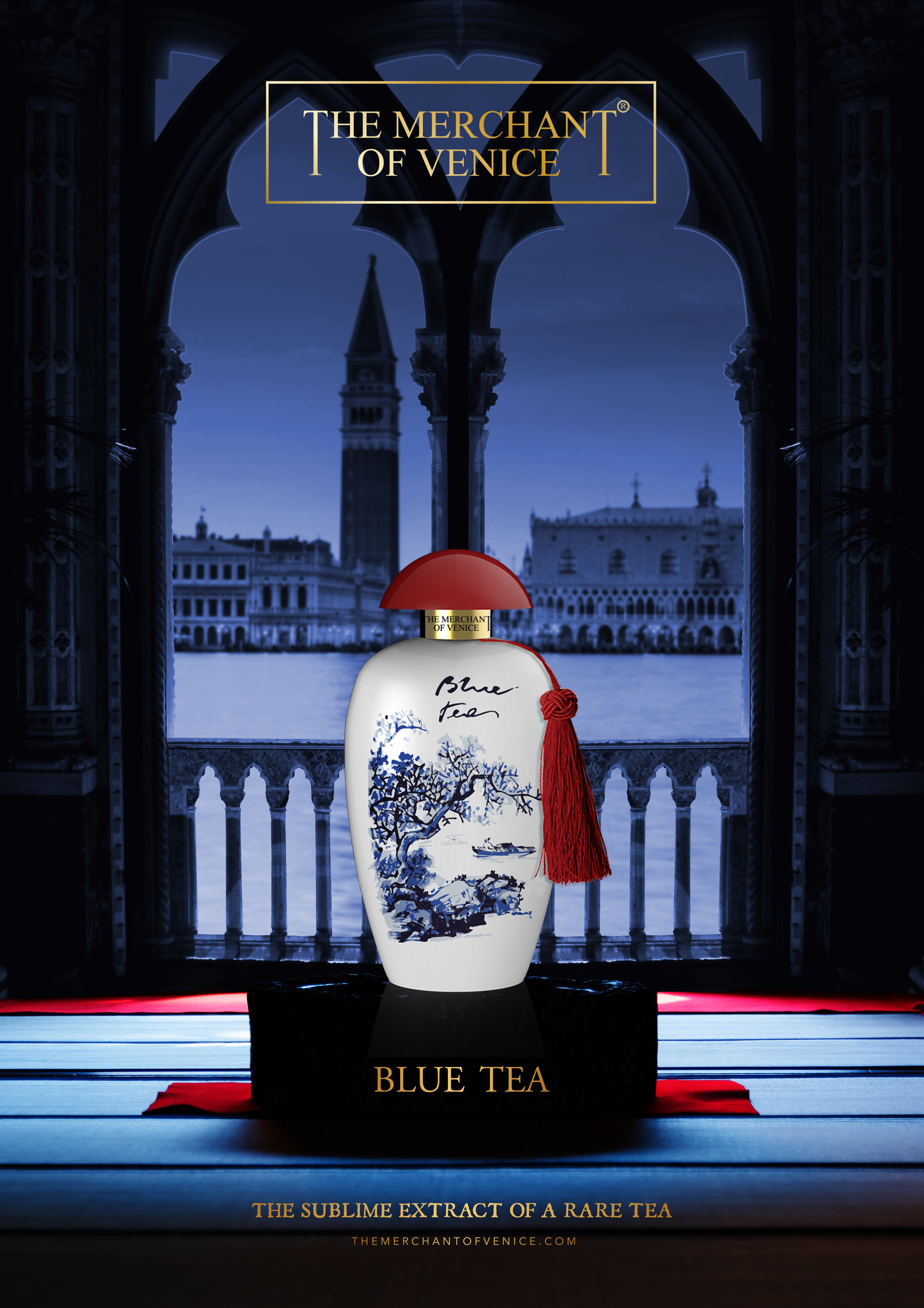 the merchant of venice blue tea