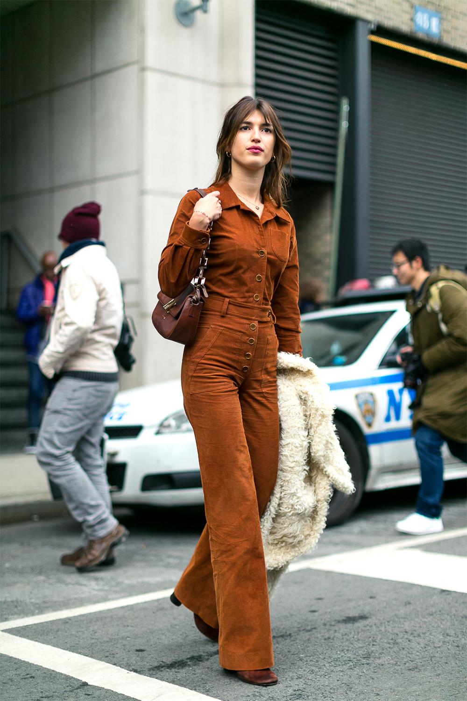Jeanne Damas jumpsuit nâu thời trang công sở