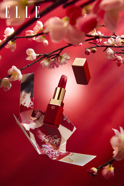 Cle de Peau beaute son môi đỏ lì