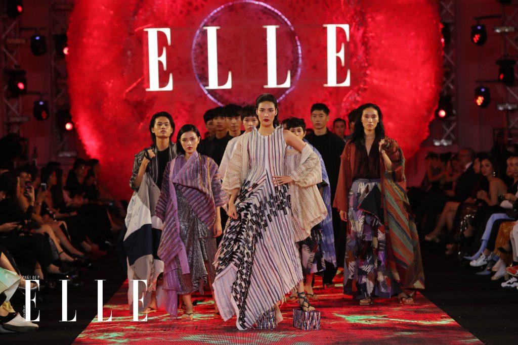 bst remade in vietnam của tom trandt tại elle fashion journey 2018