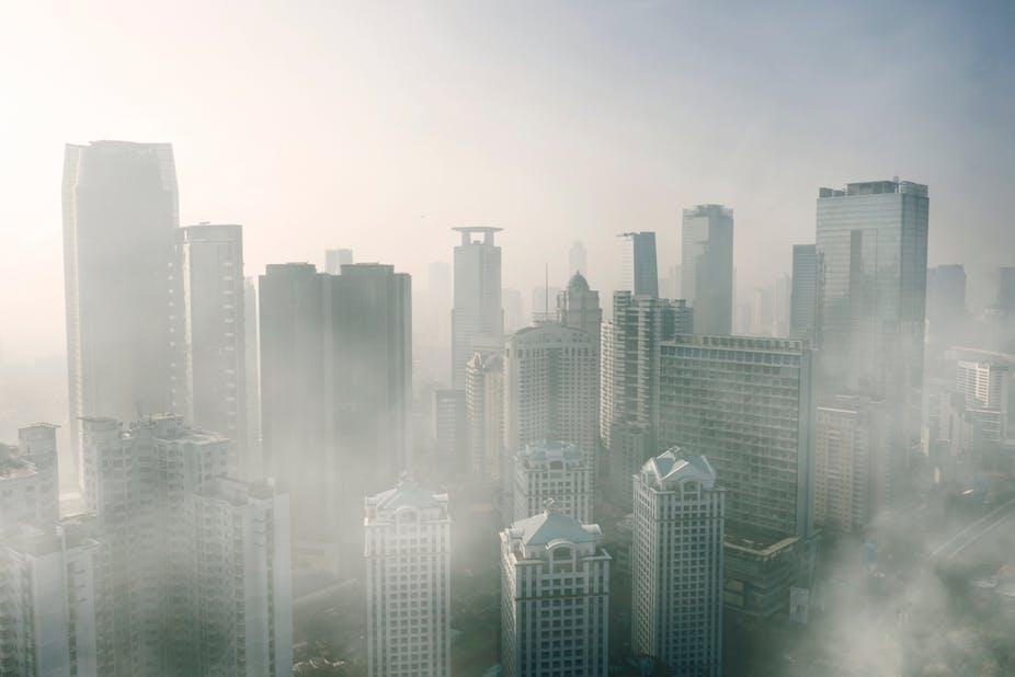 tình trạng ô nhiễm không khí