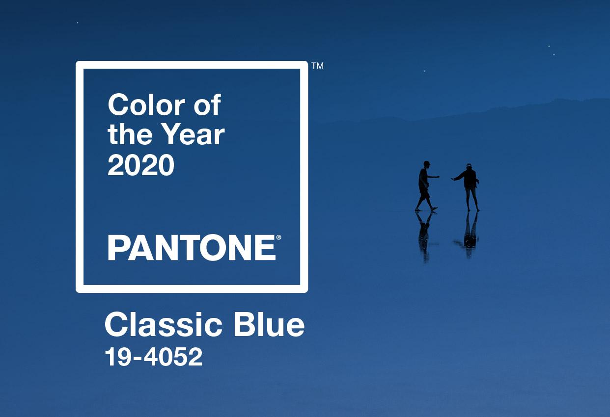 Pantone công bố màu của năm 2020 Classic Blue