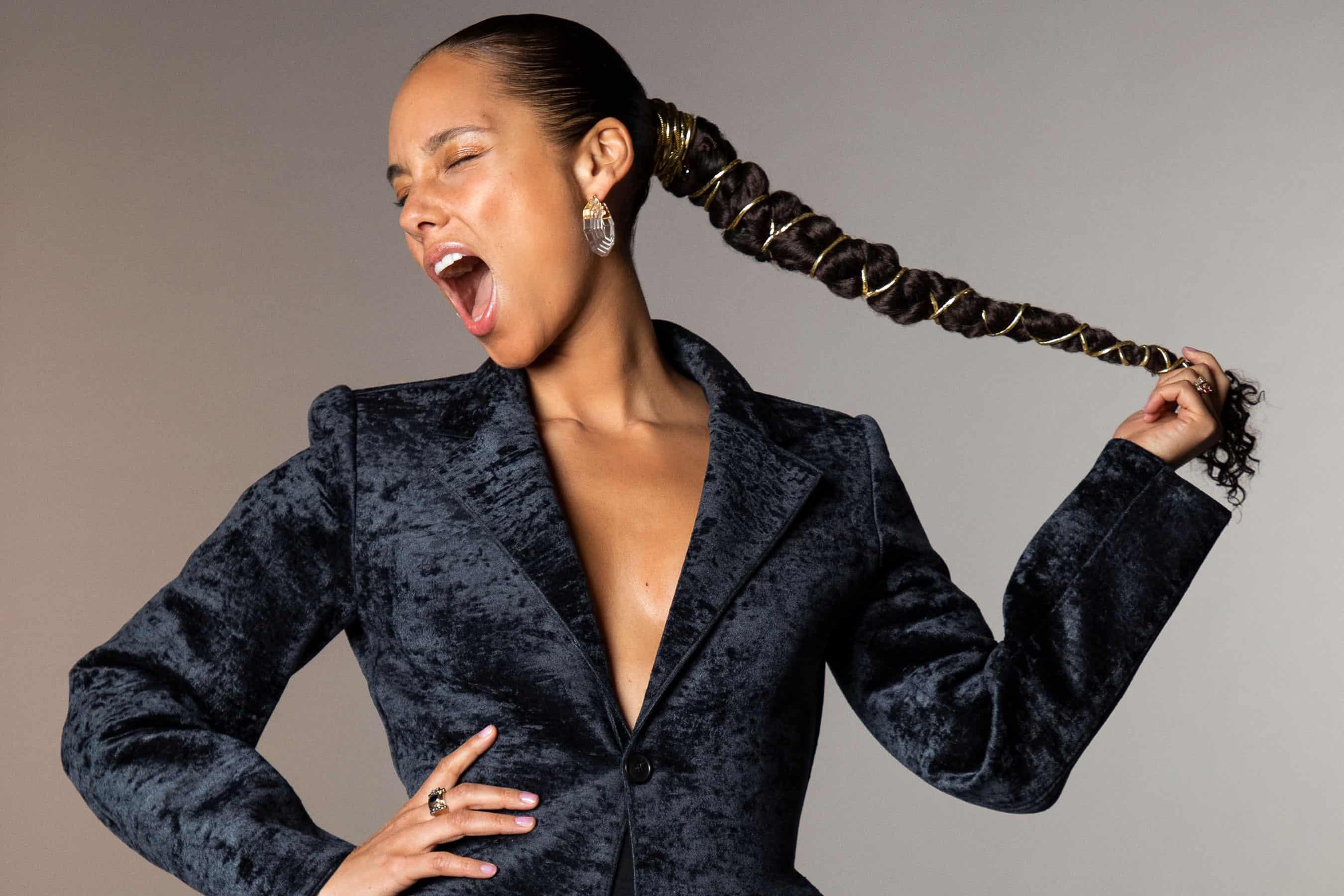 Alicia Keys đại diện cho trí thông minh về thanh âm
