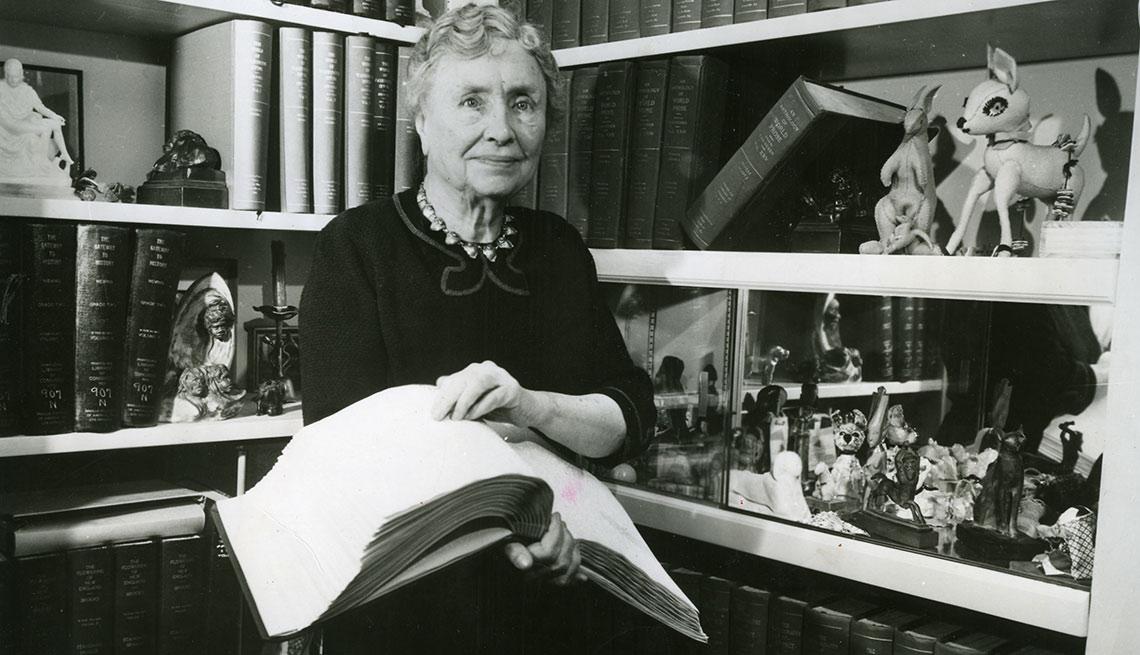 Helen Keller đại diện cho trí thông minh nội tại