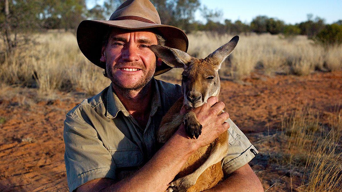 chuyên viên bảo tồn động vật Steve Irwin đại diện cho trí thông minh thiên nhiên