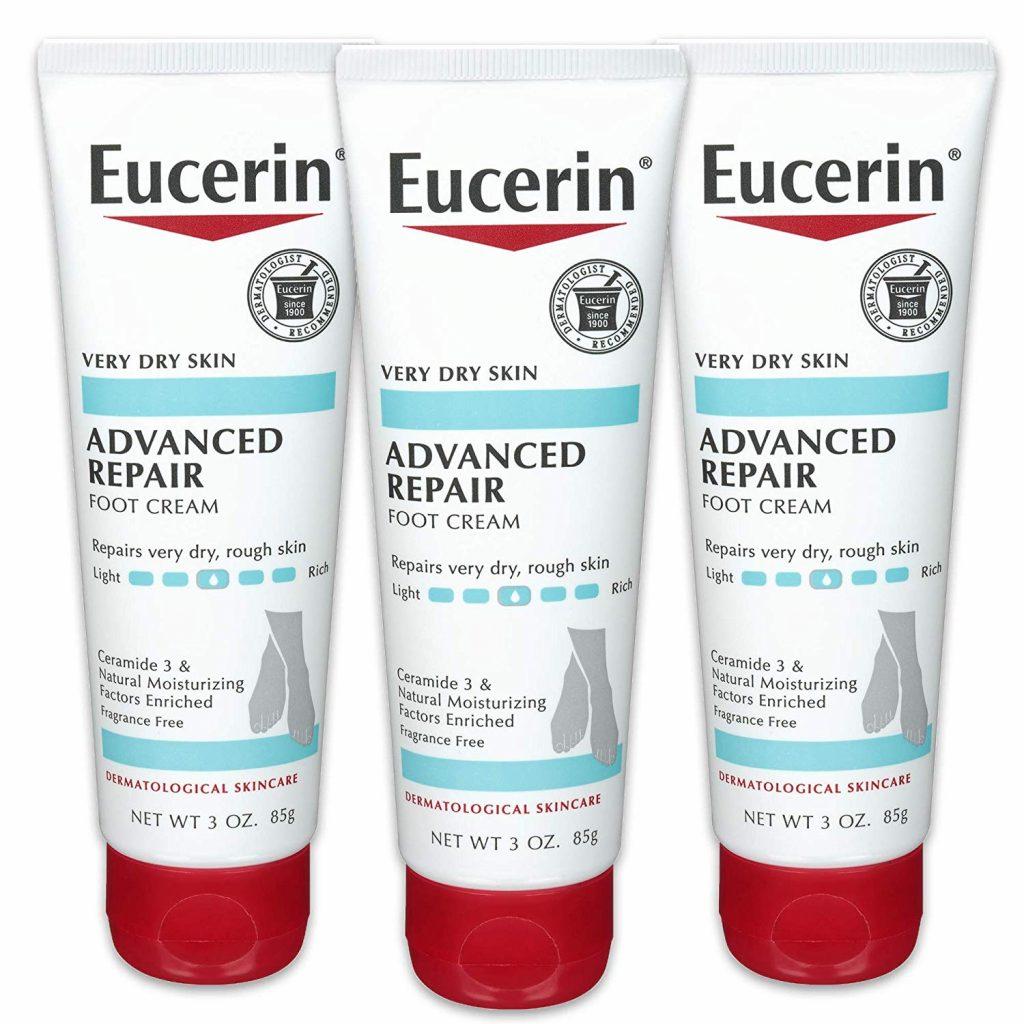 Kem dưỡng Eucerin Advanced Repair Foot Cream.