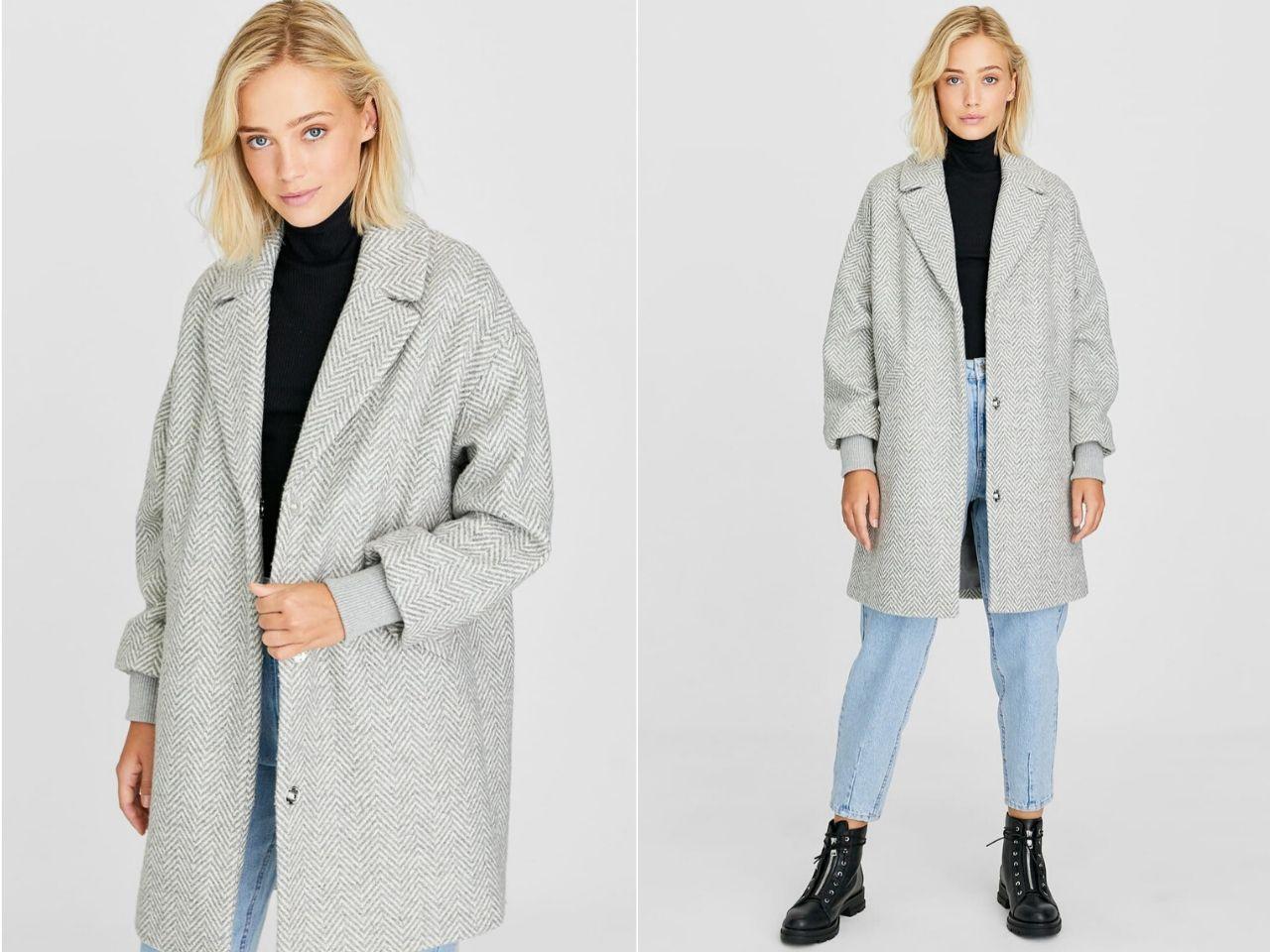 áo khoác len dài - áo khoác thu đông