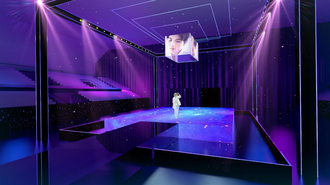 sân khấu vũ cát tường