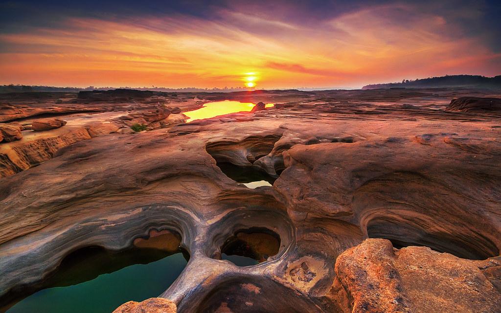 du lịch thái lan Sam Phan Bok