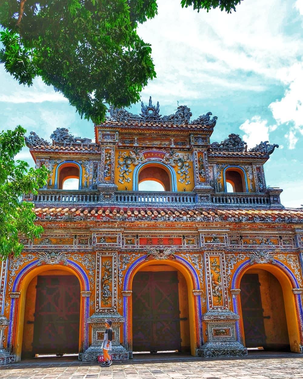 du lịch Việt Nam kinh thành huế