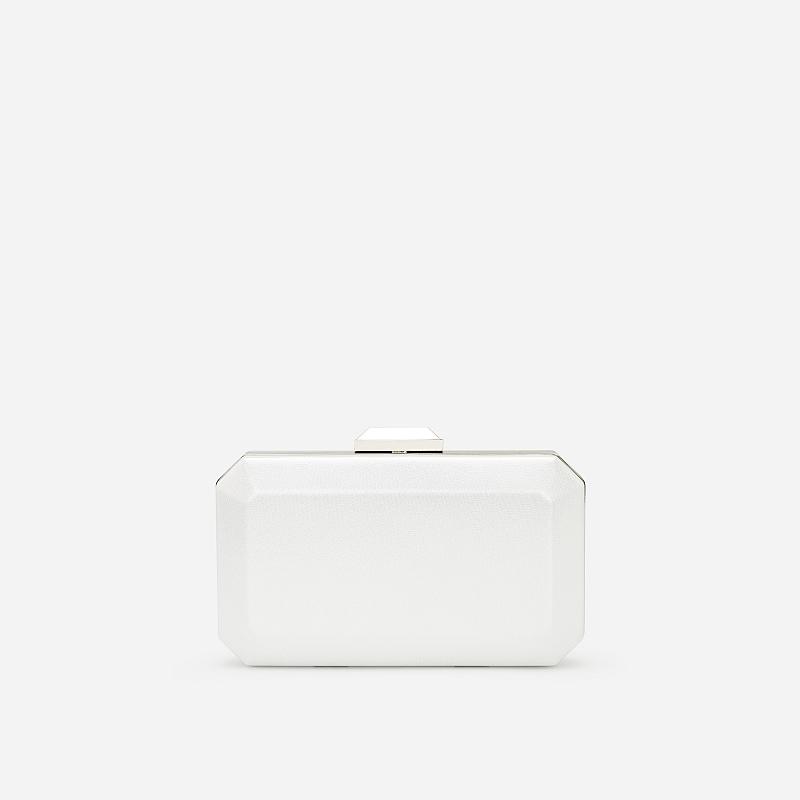 clutch trắng vascara - quà tặng giáng sinh 2019