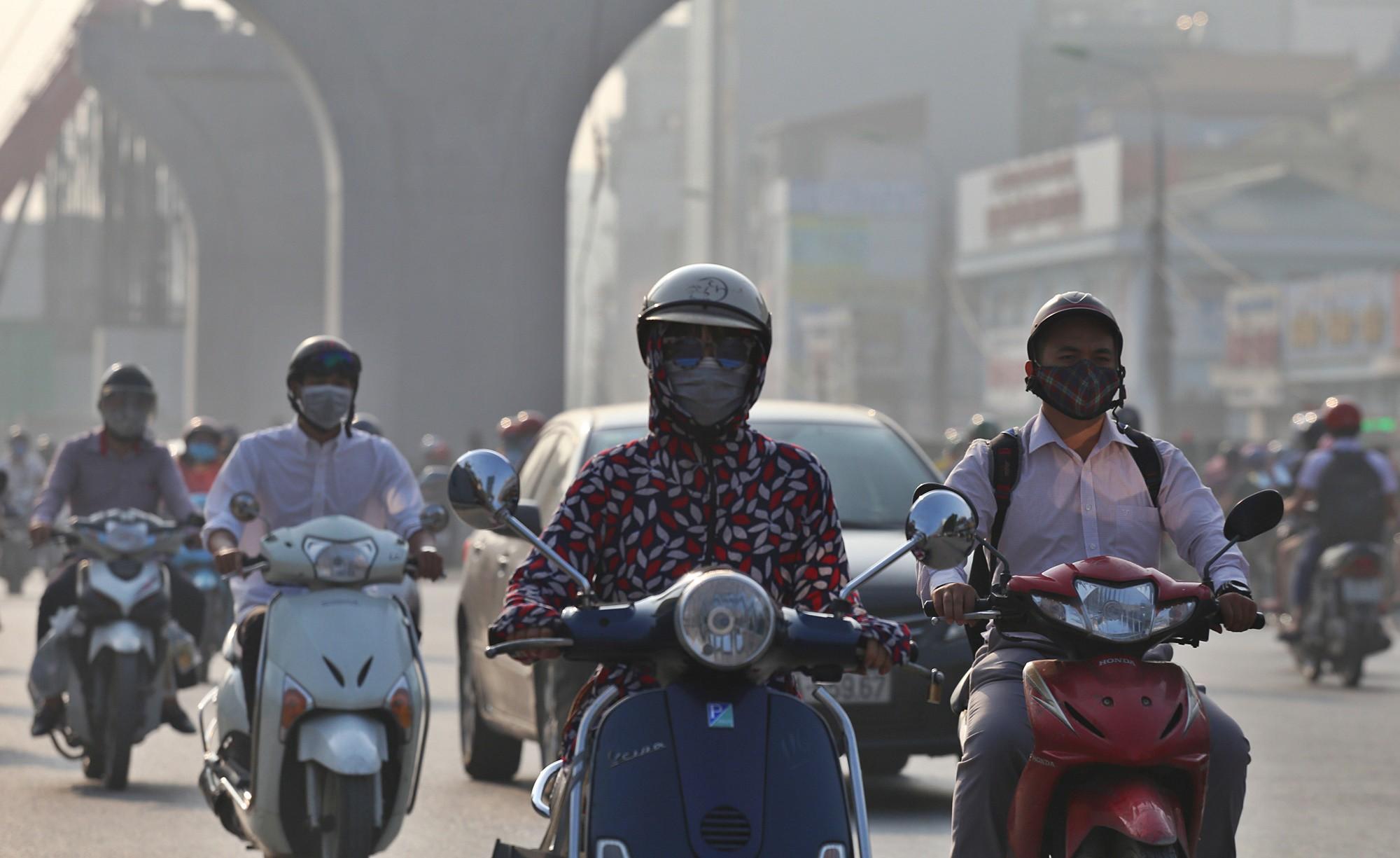 ô nhiễm không khí ở TP.HCM