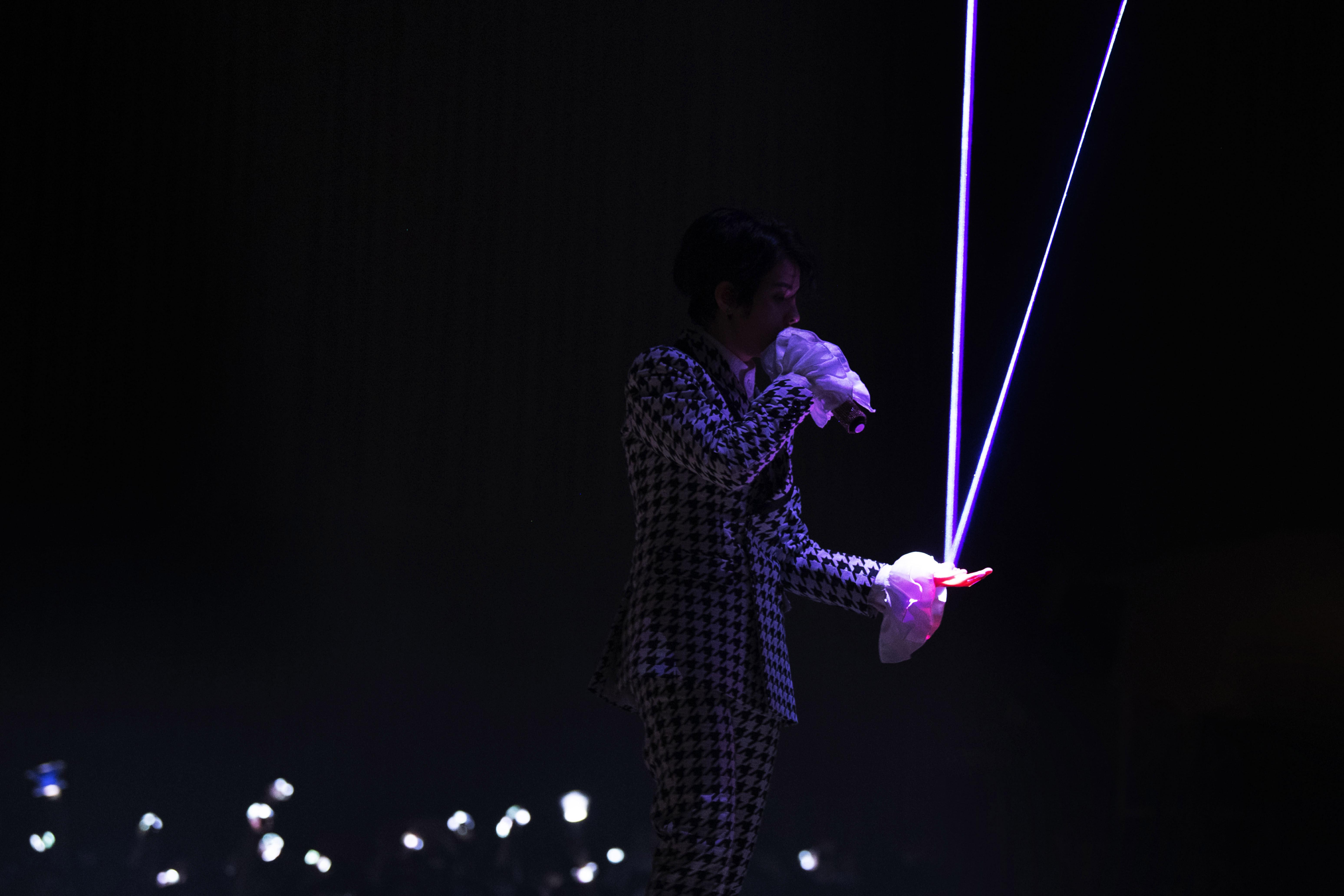 hiệu ứng đèn trong concert