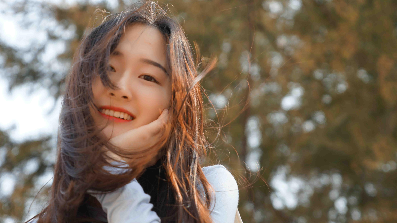 cô gái hạnh phúc