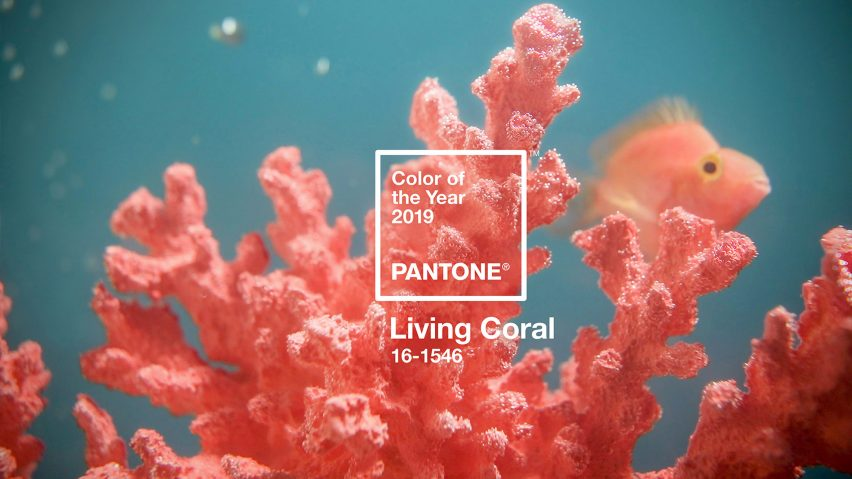 Màu Pantone 2019 - Living Coral 2