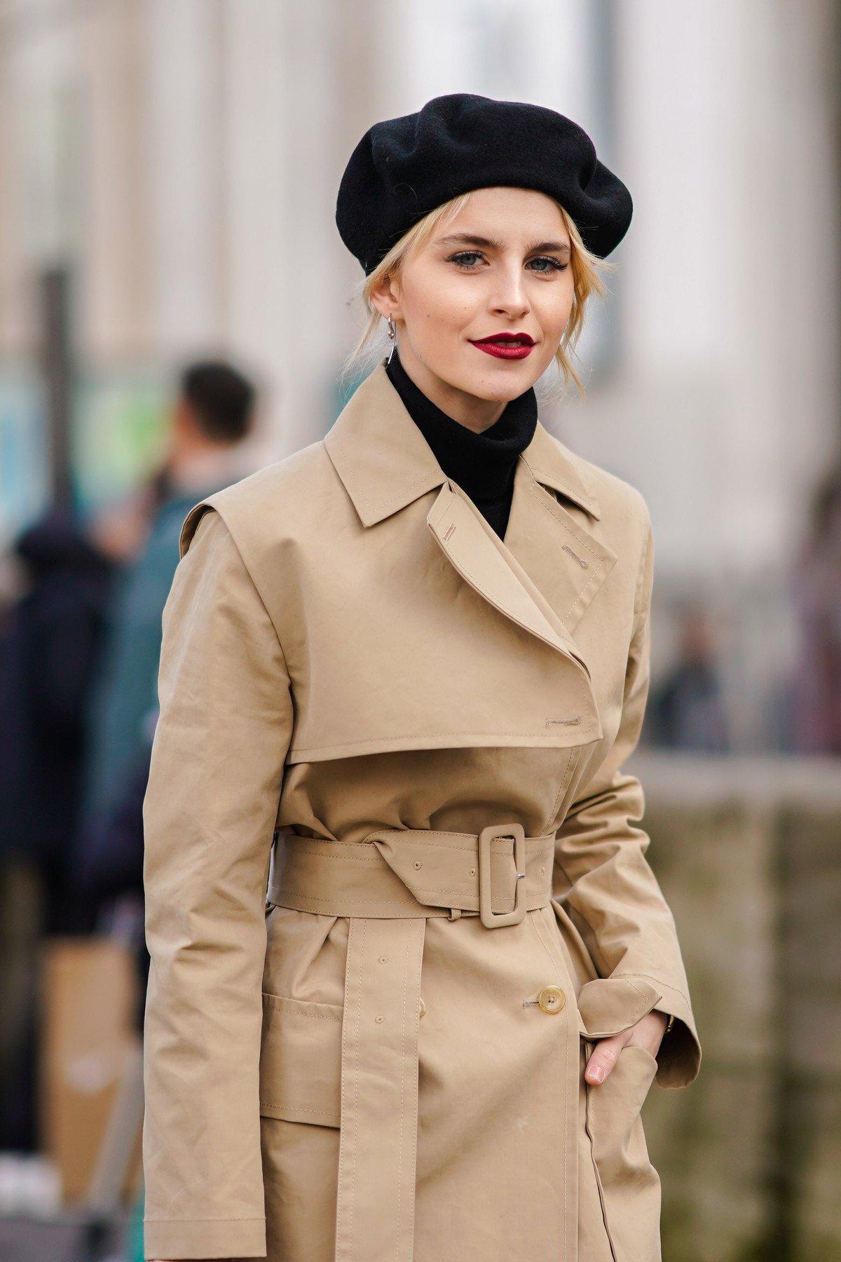 Mũ beret bí quyết mặc đẹp
