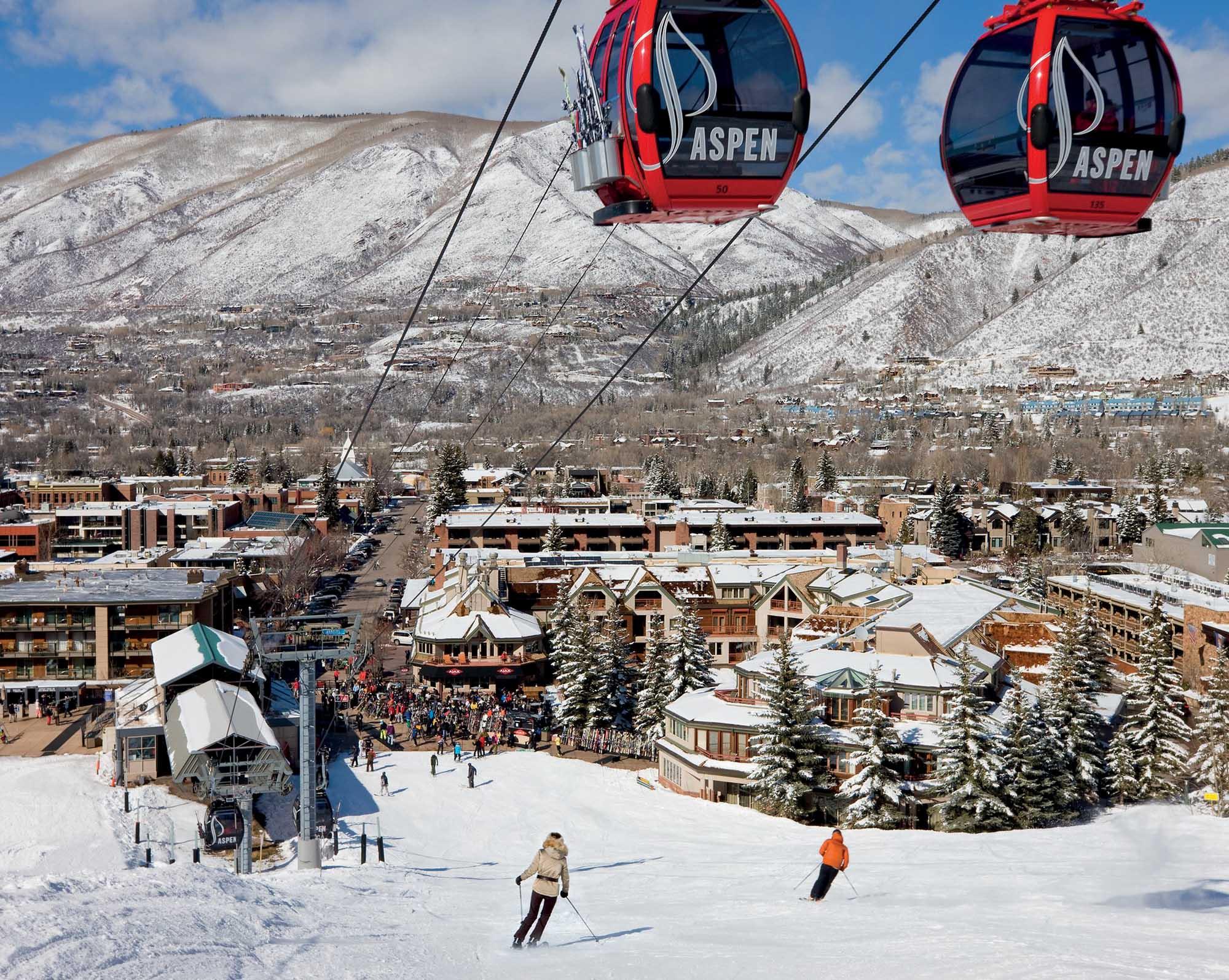 Aspen khu resort nổi tiếng