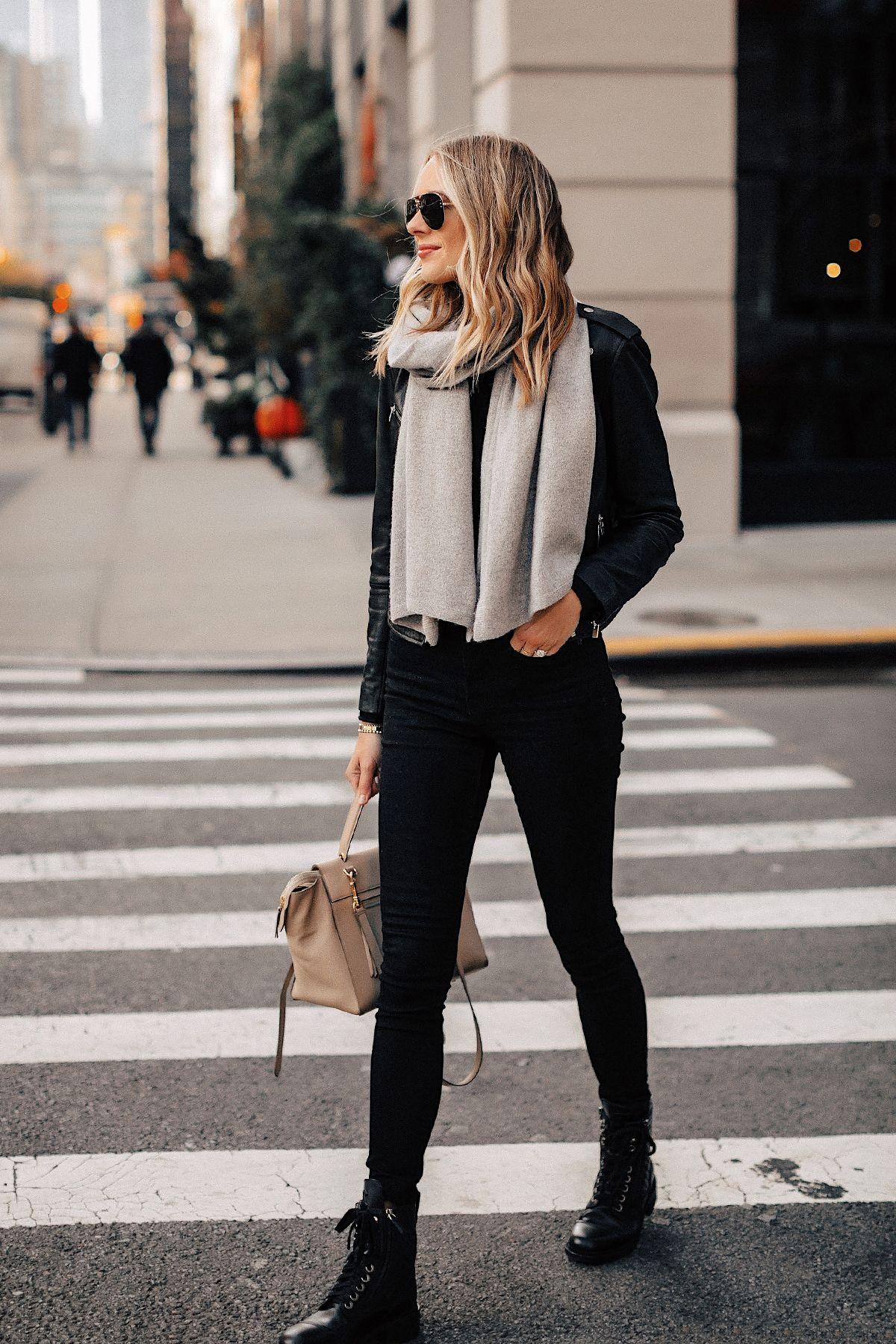 Xu hướng thời trang Skinny jeans và boots
