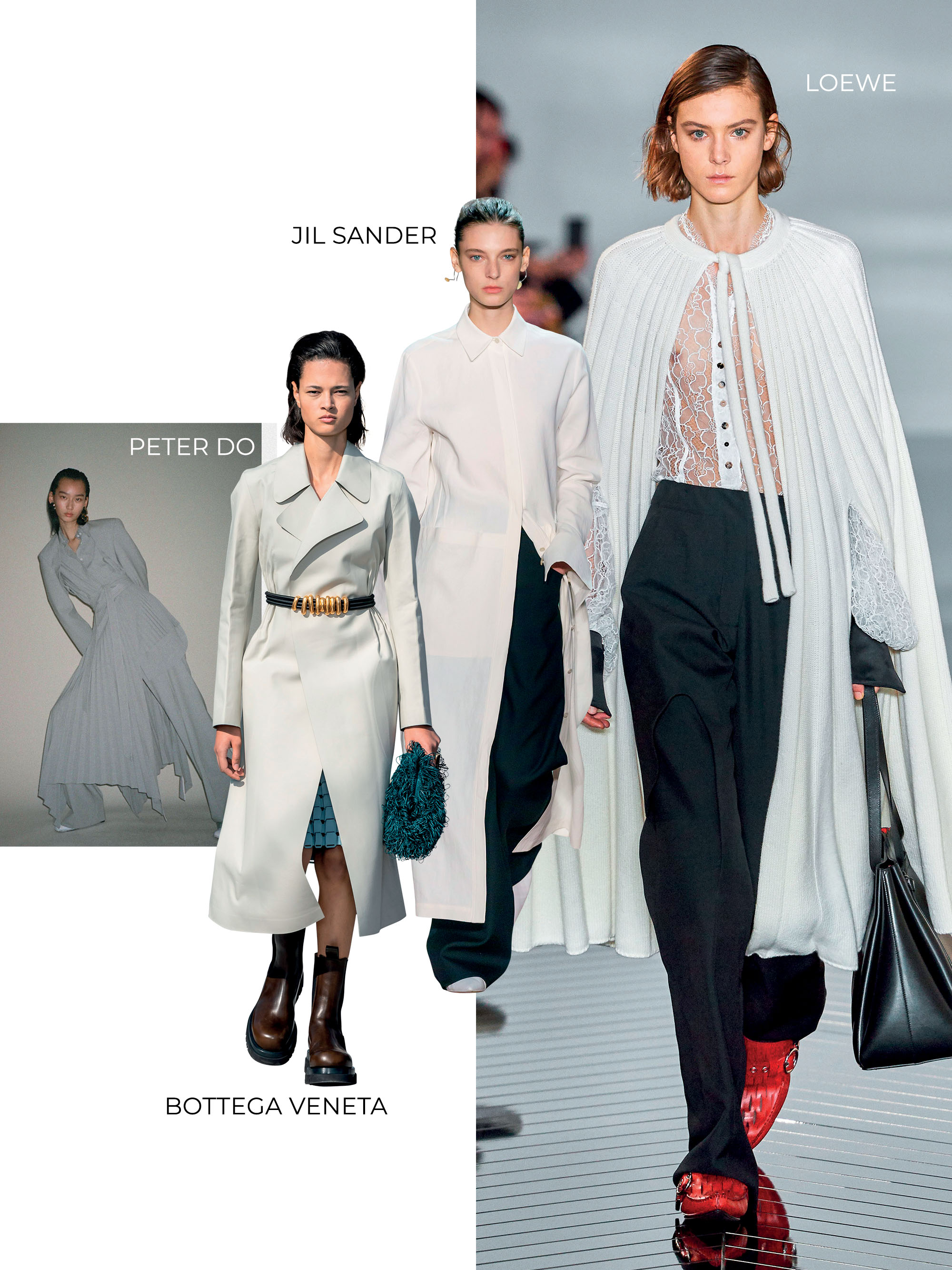 Phoebe Philo những thiết kế của Loewe Jil Sander Bottega Peter