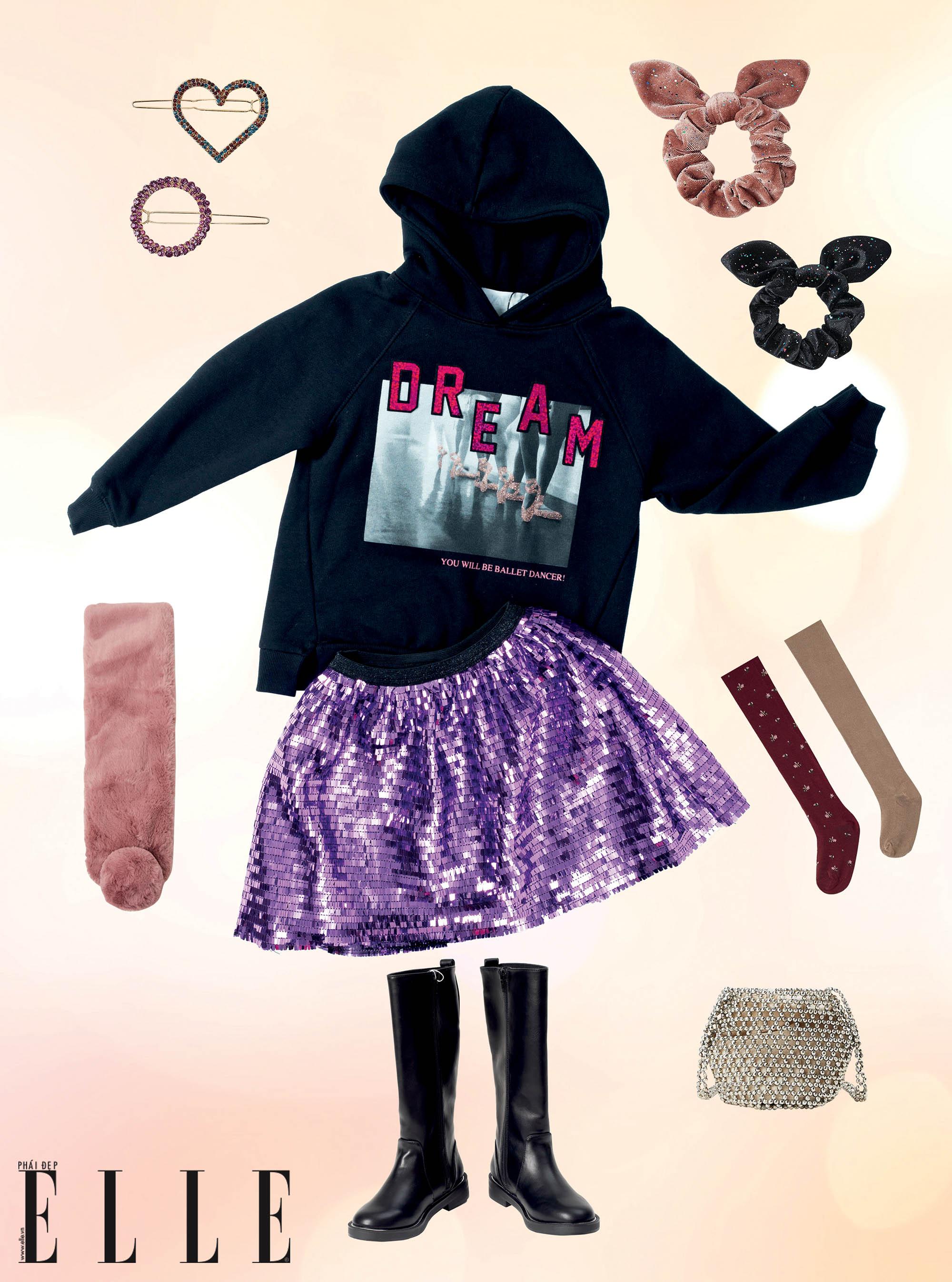 mùa lễ hội trang phục cho bé gái
