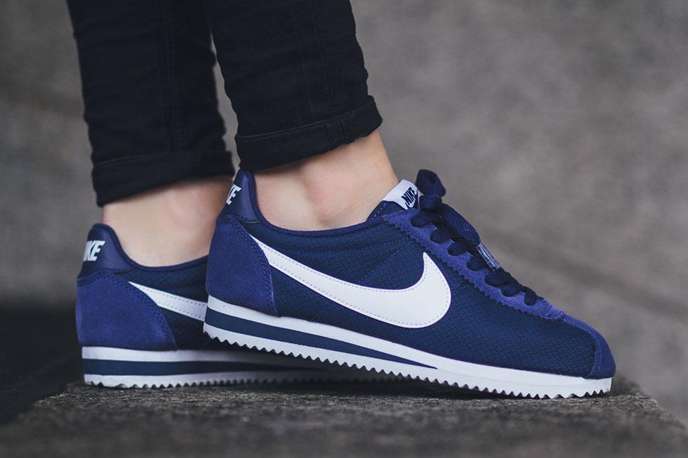 Nike Cortez màu classic blue