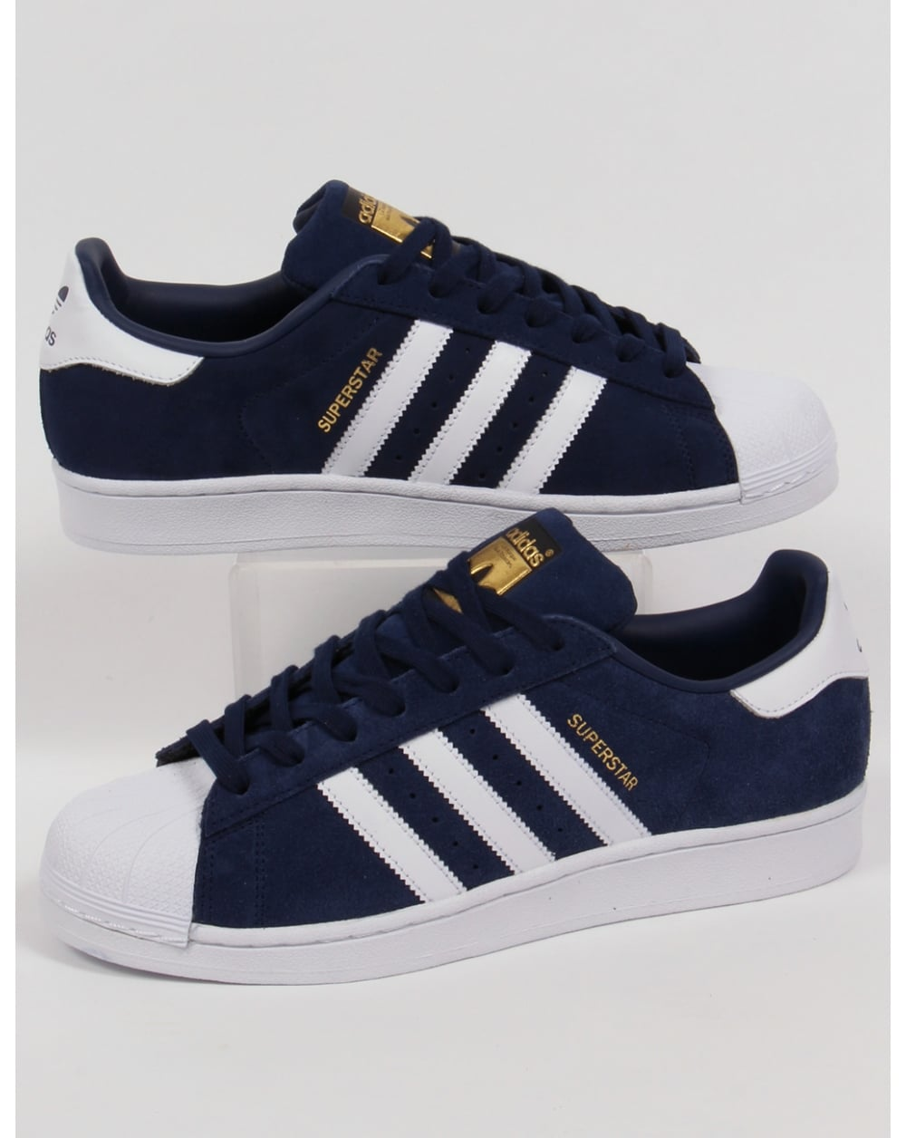 Adidas Superstar màu classic blue