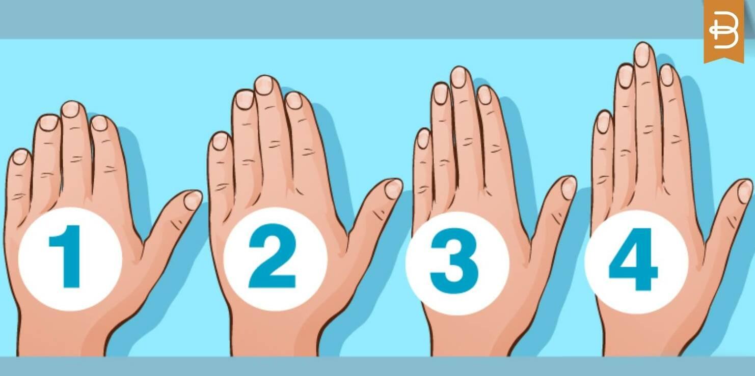 trắc nghiệm hình dạng bàn tay tiết lộ tính cách