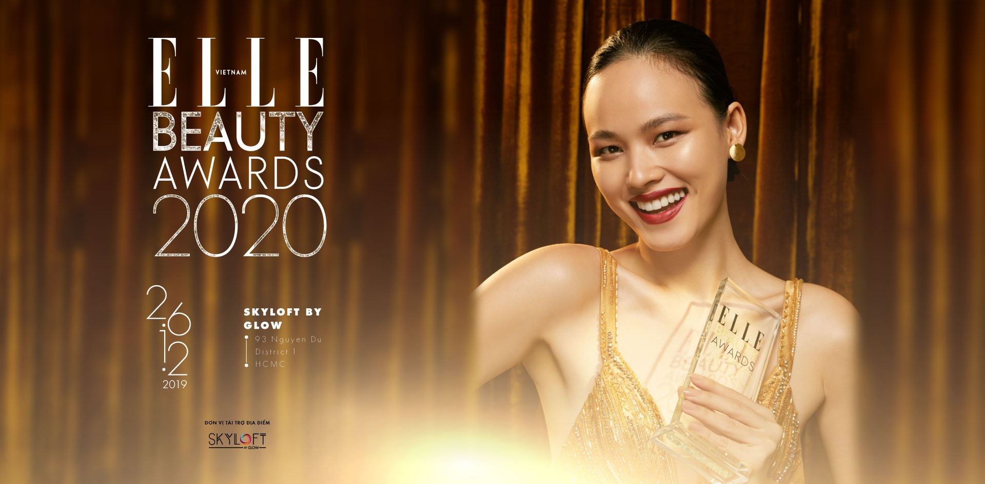 elle beauty awards 2020 - KV