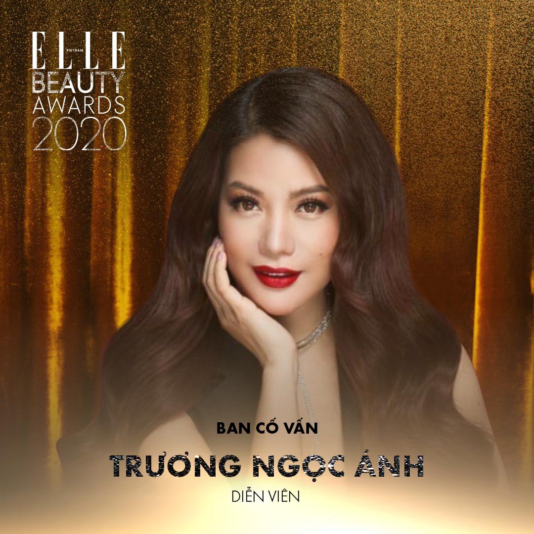 diễn viên trương ngọc ánh - ban cố vấn elle beauty awards 2020