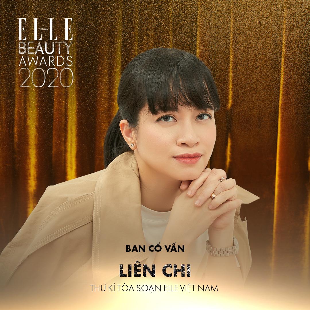 liên chi nguyễn - ban cố vấn elle beauty awards 2020