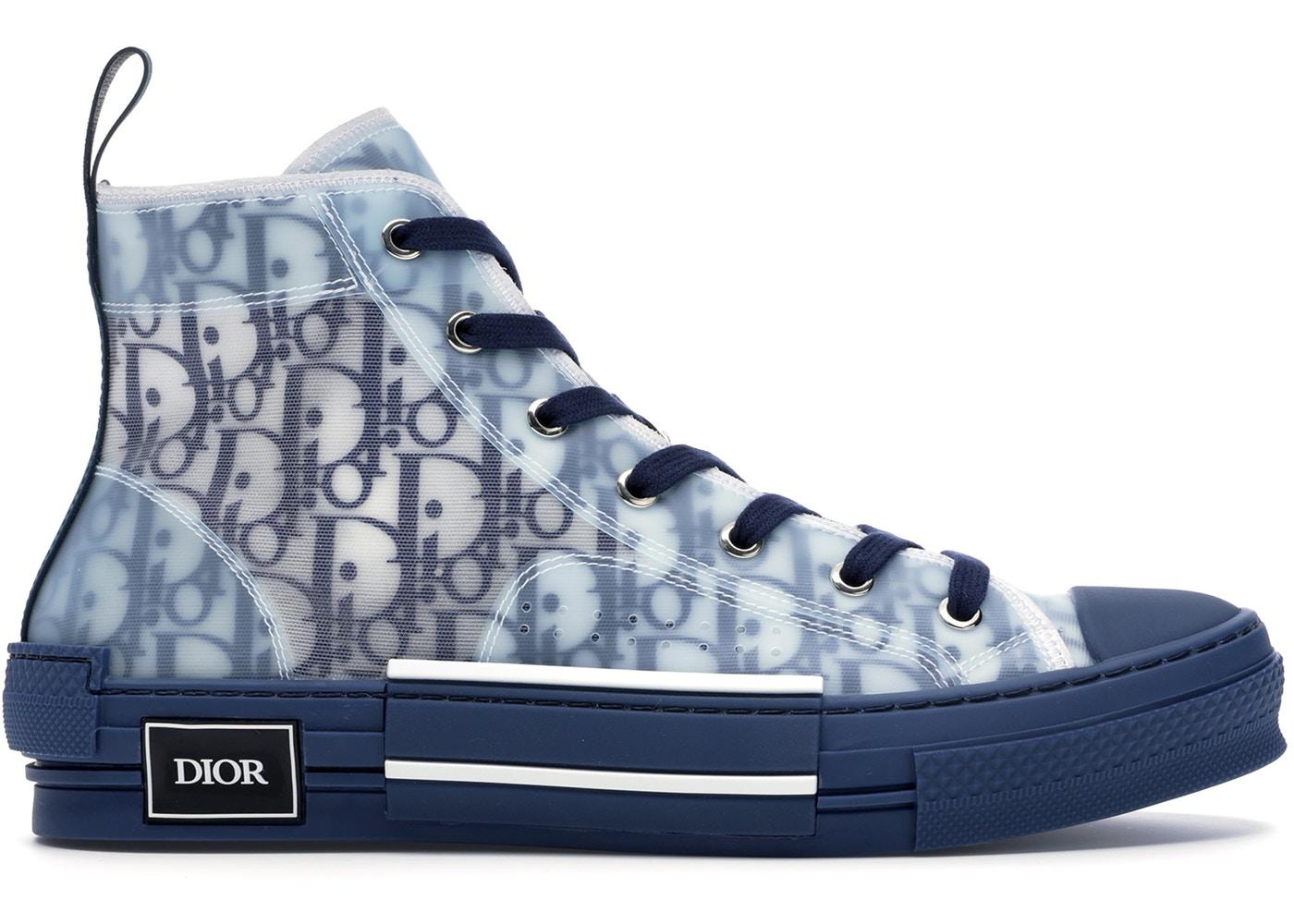 Giày Dior Oblique màu classic blue