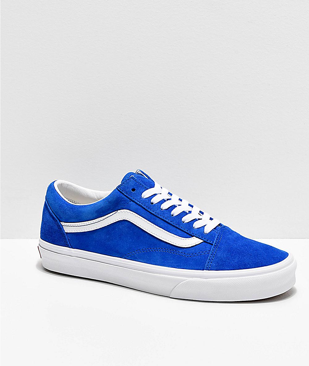 Giày Vans old skool màu classic blue