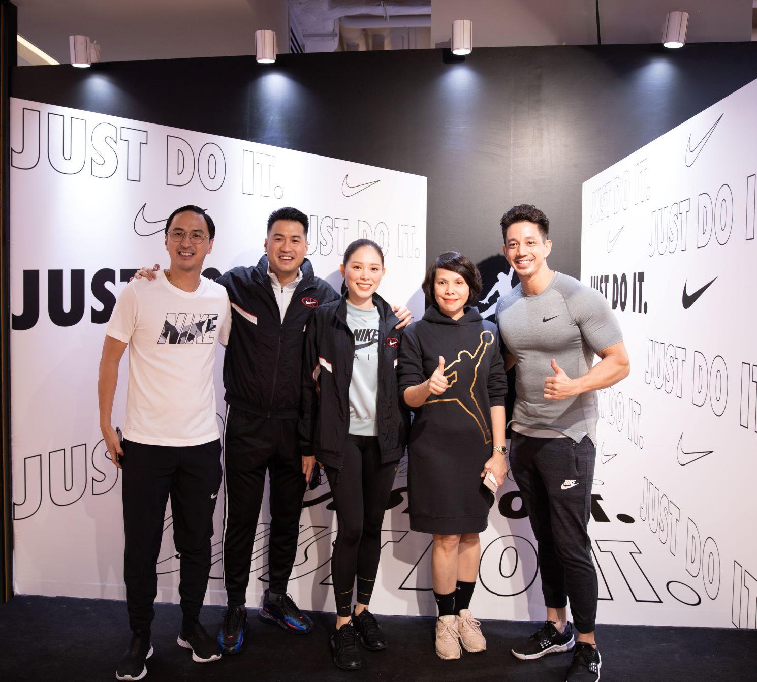 Các đại diện ACFC dự sự kiện Nike