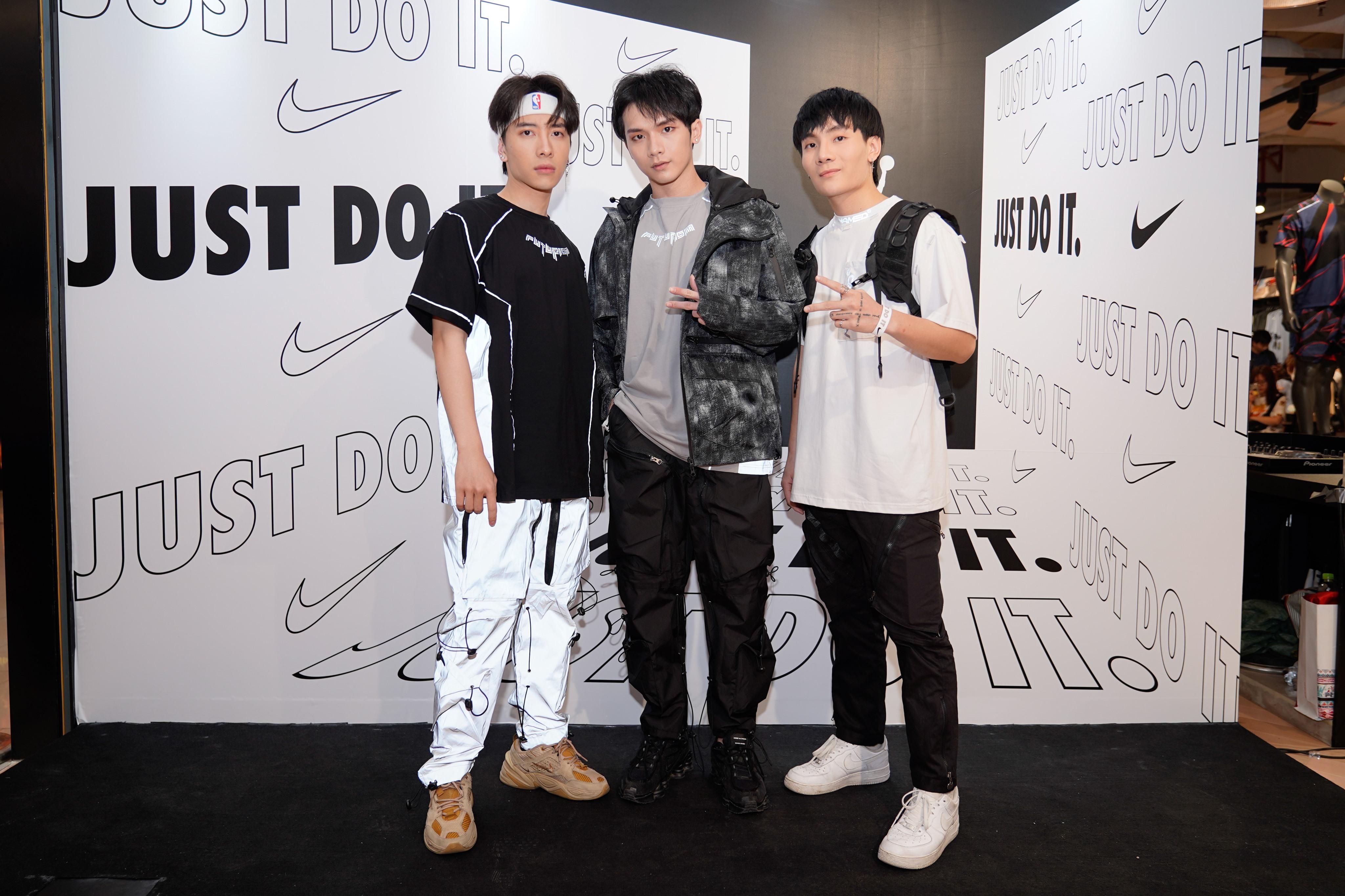 Nhóm nhạc Monstar sự kiện Nike