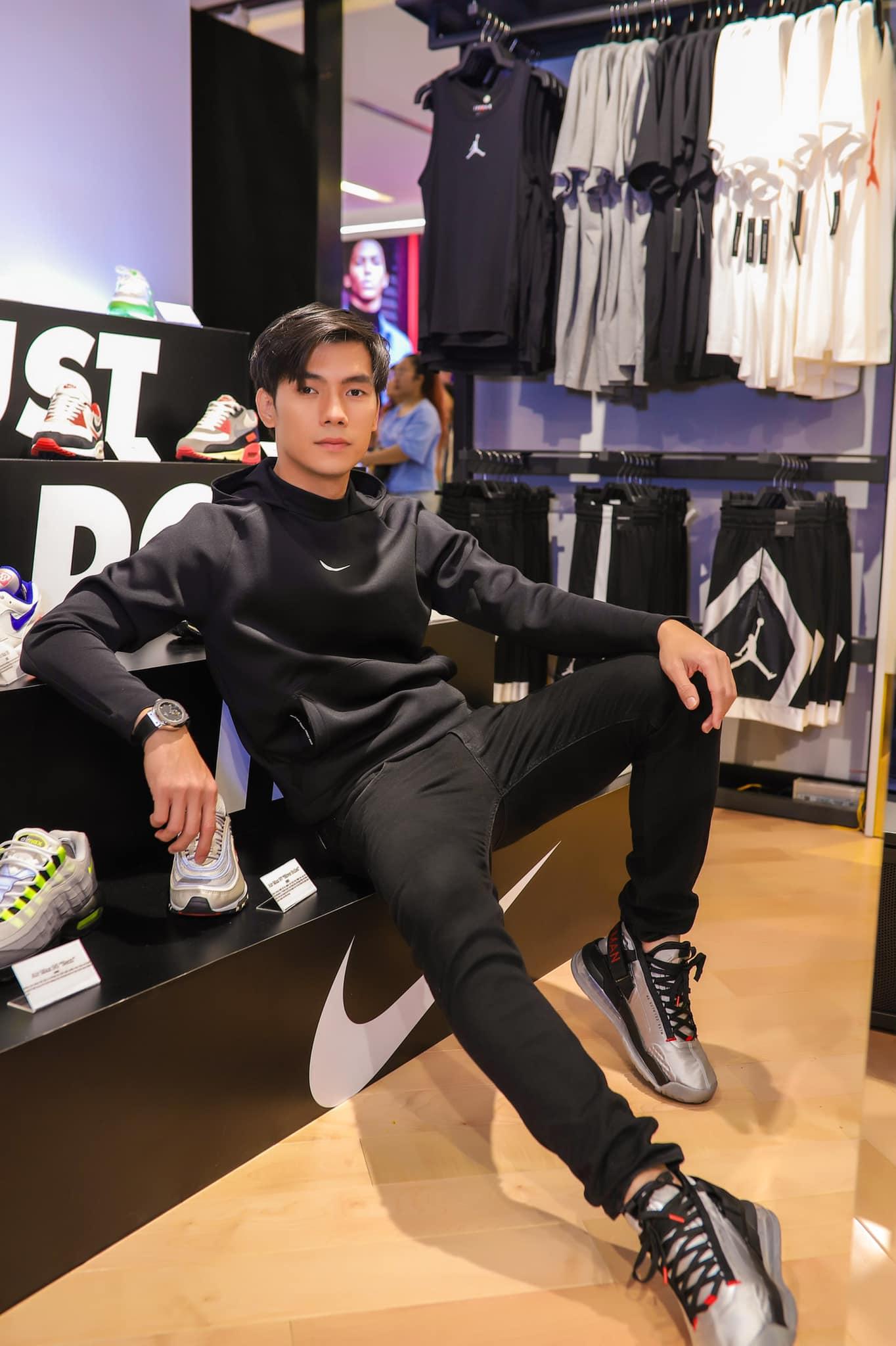 Nhan Phúc Vinh tham dự sự kiện Nike