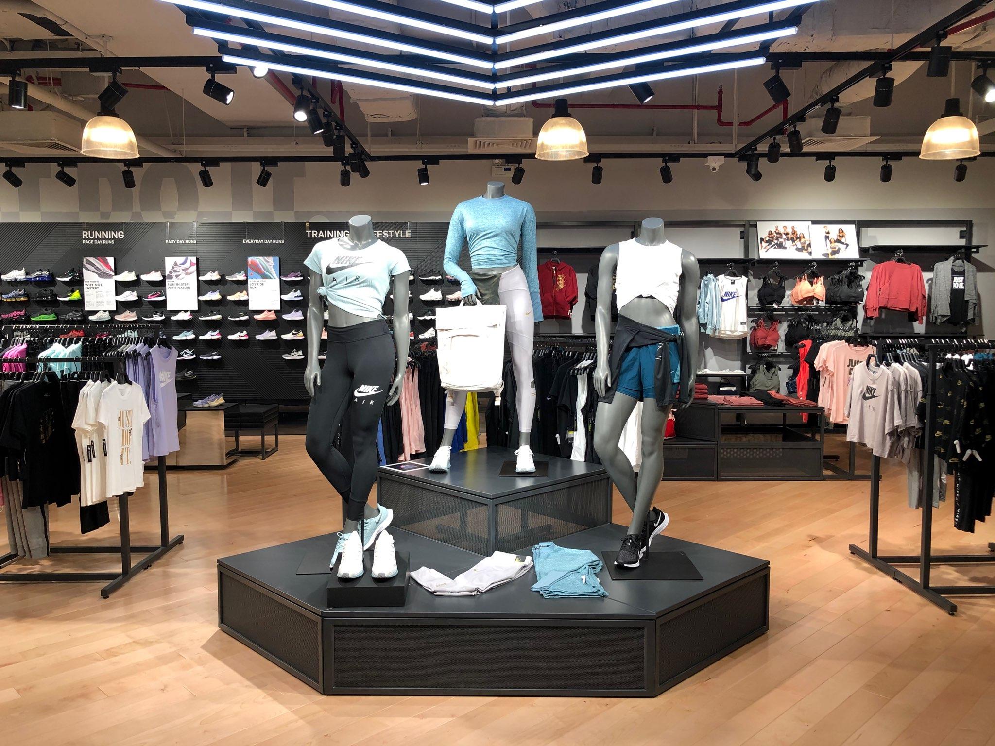 Không gian mua sắm Nike Saigon Centre