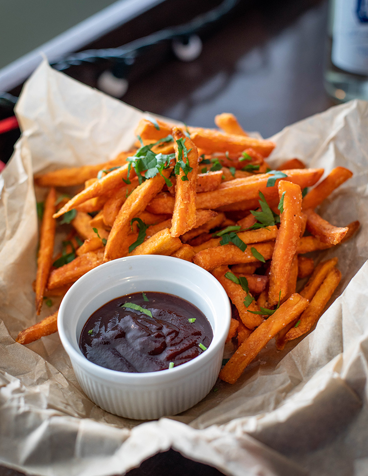 thực phẩm gây mụn khoai tây chiên