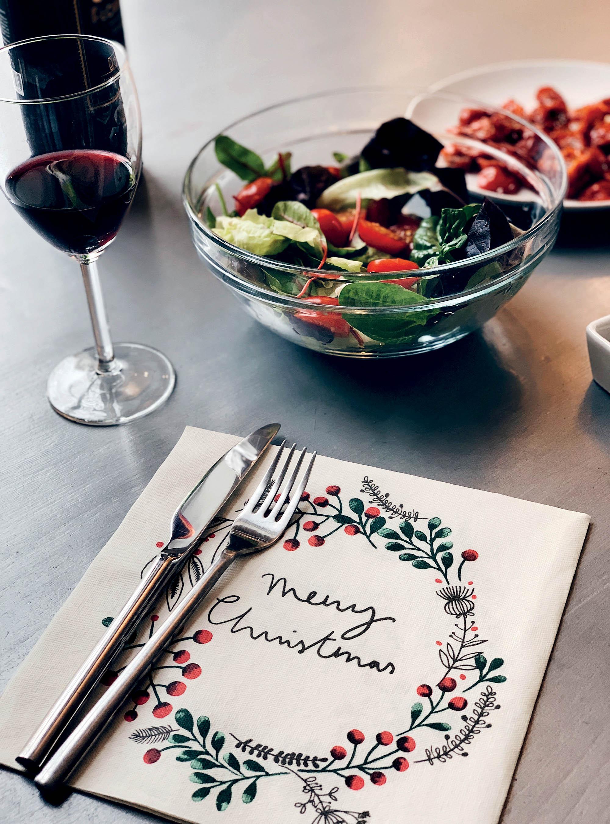 quà Giáng Sinh bữa ăn ngày lễ