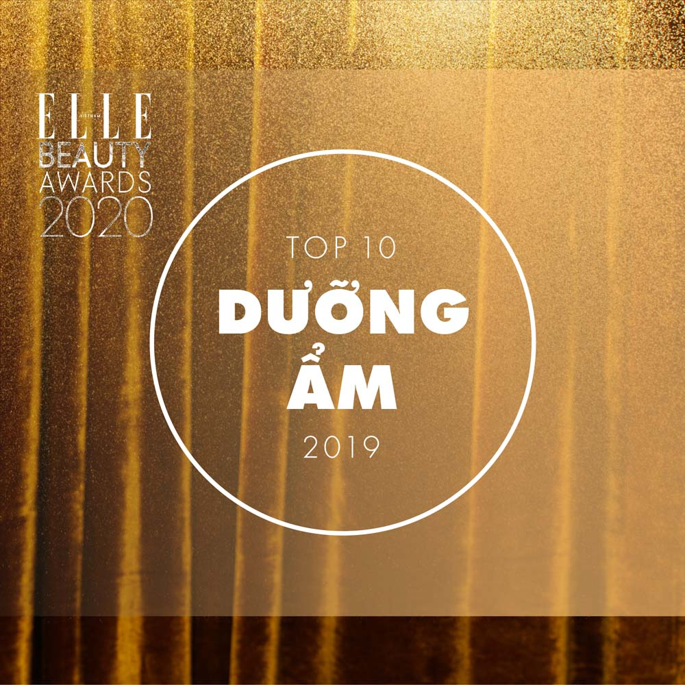 top 10 dưỡng ẩm elle beauty awards 2020