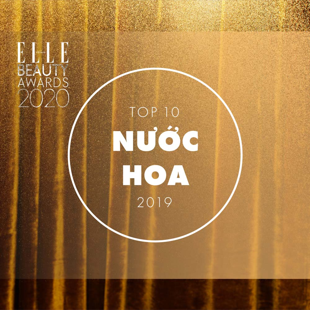 top 10 nước hoa elle beauty awards 2020