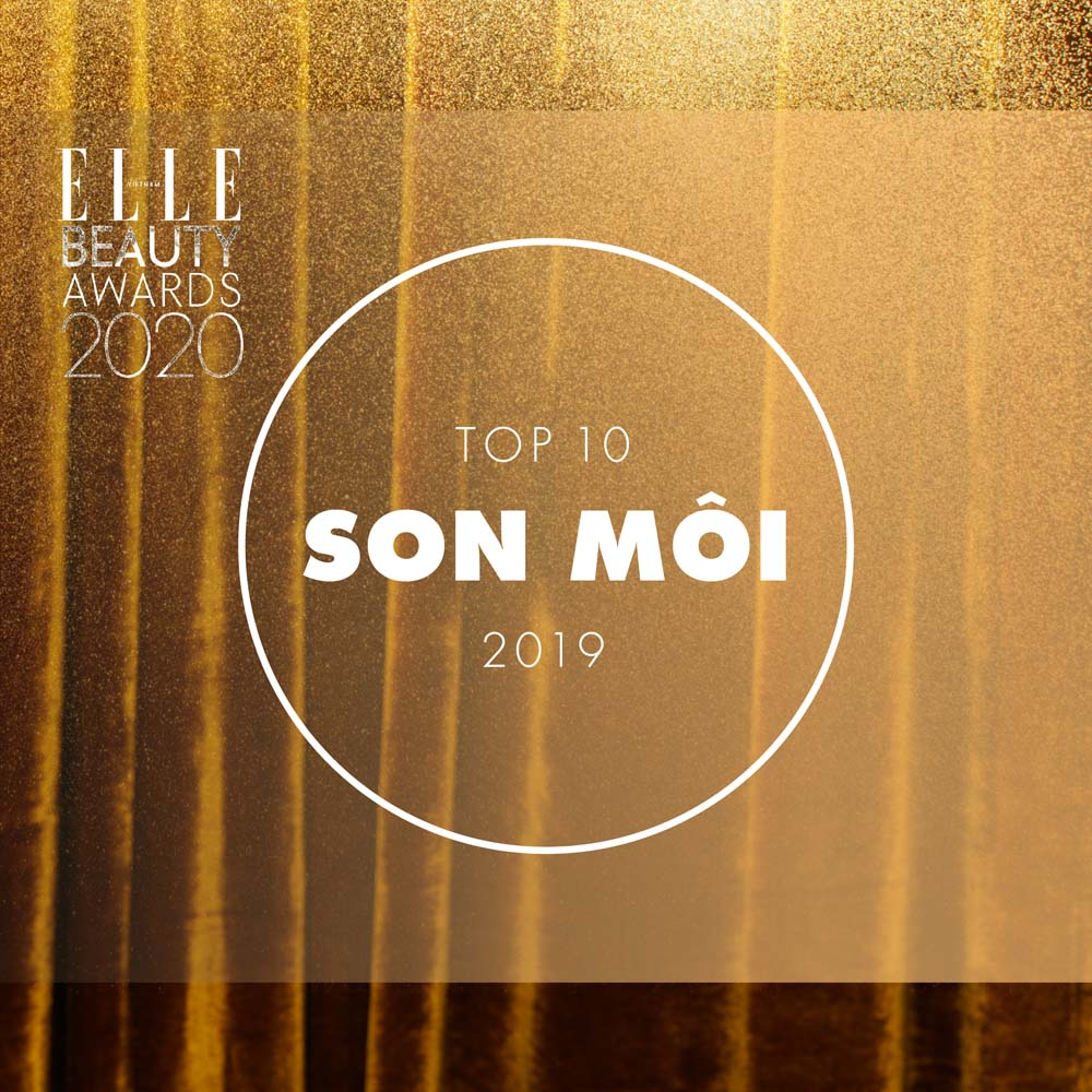 top 10 son môi elle beauty awards 2020