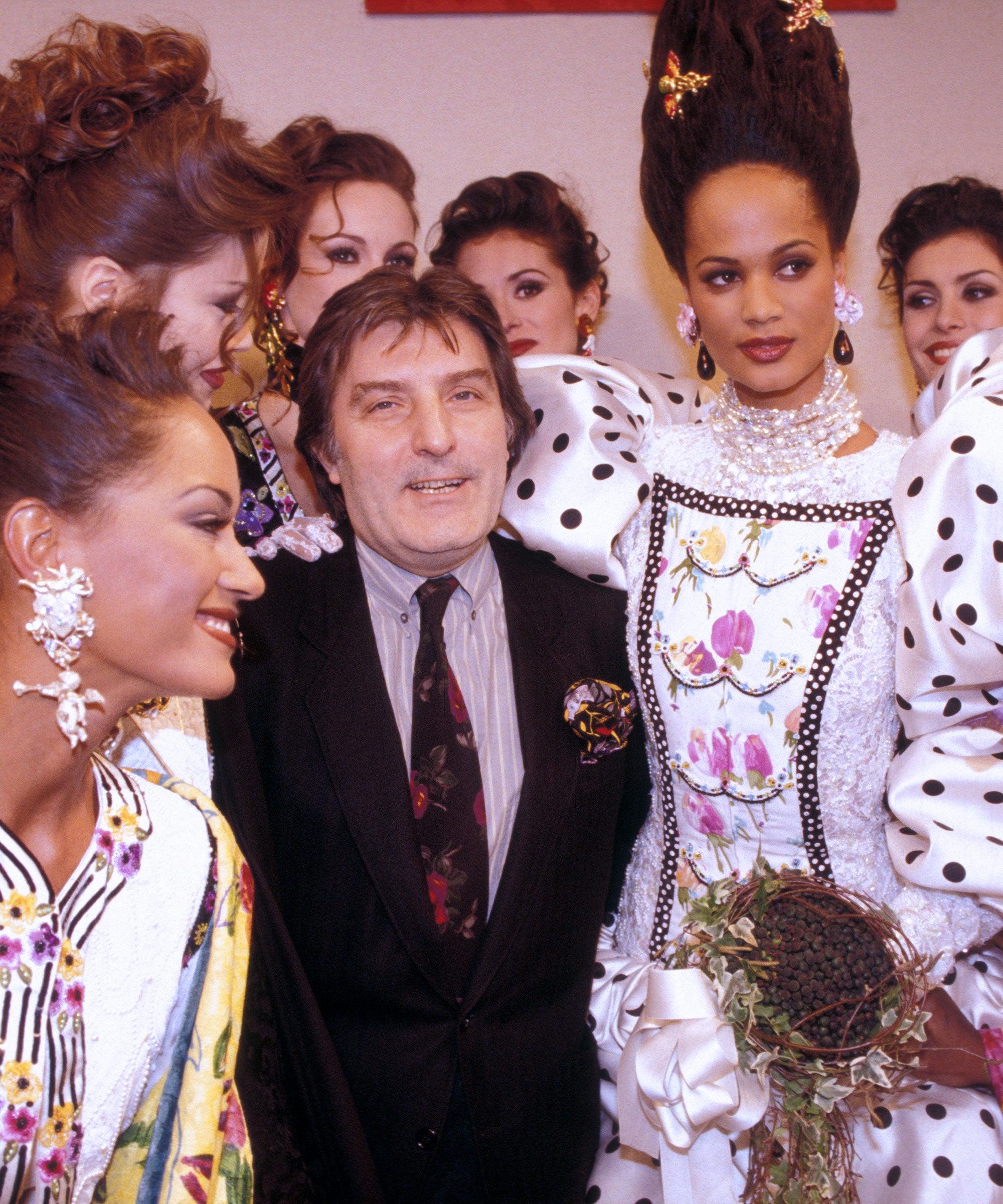 NTK Emanuel Ungaro và người mẫu